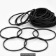 Black Rubber Band 100Pack