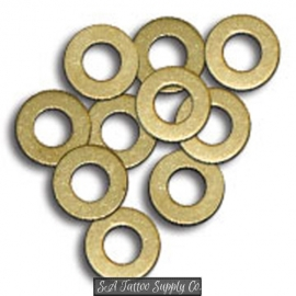 Lot Of 20PCS Brass Flat Washers - M4 × 9 × 0.5 FWR03