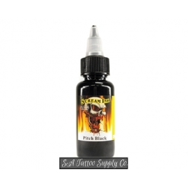 Scream Ink Pitch Black 1/2 oz