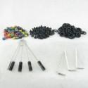 Tattoo Grommets Nipples O-rings Brushes Hex Key Tools Accessory Set TAS01