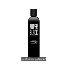 Intenze Zuper Black Dark Tattoo Ink 1-oz 30ml