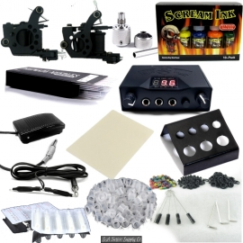 Ultimate Starter Tattoo Kit With Ink