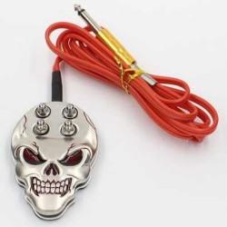 Skull foot pedal
